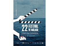 Diseño de afiche / Concurso Festival de Málaga