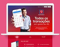 Landing Page - App Bradesco 3G grátis
