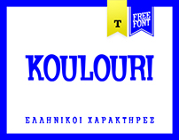 Koulouri // Free Font