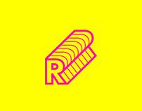 Material gráfico para festival Ruidosa 2016