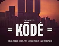 Kode movie poster