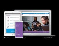 Austin Achieve Public Schools // Web Design