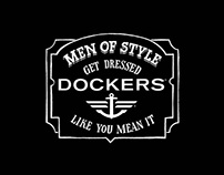 "Dockers ""Men of style"""