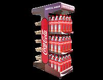 isla exhibición Coca Cola