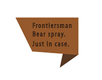 Bear Spray Ad Campaign