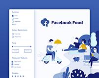 Facebook Food - concept & design