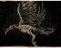 Illustration of [ The Raven - Edgar Allan Poe ]
