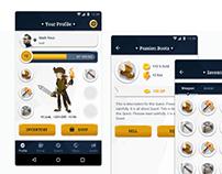 Fantasy App Game Design.
