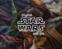 Digital STAR WARS stil life