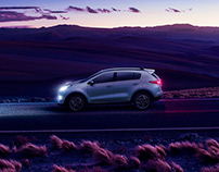 KIA Sportage 2018 - Retouching & Compositions
