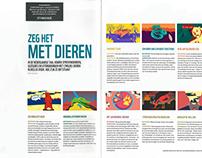 Artikel Nederlandse spreekwoorden illustraties
