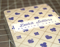 Dutch Settlers Playing Cards