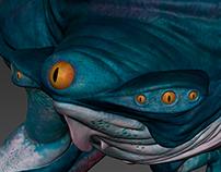 Amphibious Creature 3D