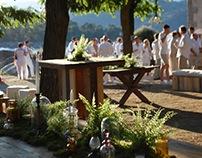 BOHO WEDDING BY THE LAKE