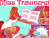 Miss Traumerei - Art Nouveau Poster Revisted