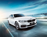 BMW 5 campaign 2017