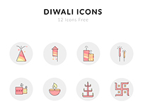 Diwali Icons For Free
