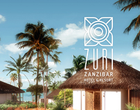 ZURI ZANZIBAR branding