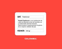 Potes / Café colombiano