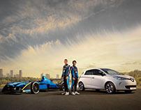 Renault Formula E pre-season shoot
