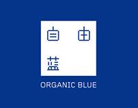 ORGANIC BLUE