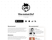 Was meinst Du? Podcast Website (v2)