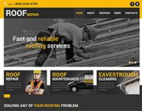 Roof Repair Joomla Template