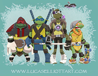 TMNT character designs