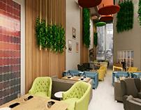 Freshy Cafe shop in Riyadh