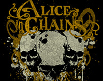 Alice in Chains - Trepanation T-Shirt