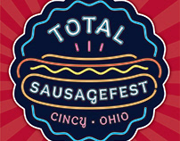 Total Sausagefest Logo & Food Truck Wrap