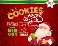 Cookies & Cocoa Event Promo Website