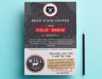 Bear State Event Flyer