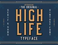 Free Font - High Life