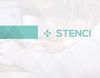 Stenci - Visual Identity