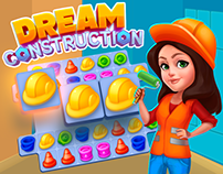"Match-3 Game Concept ""Dream Construction"""