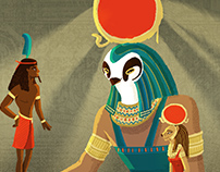 Isis et Osiris en histoire