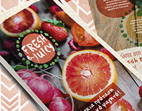 Fresh & Juicy Branding and Catalogue