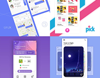 Mobile UI Designs