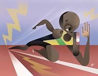 Sports! (Usain Bolt and Rafa Nadal)