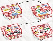 Jerry's Pizza - Kids Menu Concept