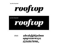 Rooftop Guitar Works Branding Identity