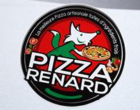 Refonte logo pizza, Strasbourg, Loolye Labat