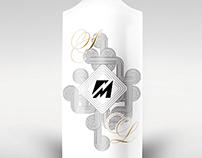 Souvenir porcelain bottle