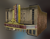 Princess Theater Game Asset