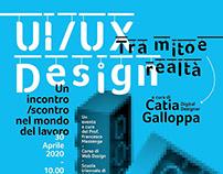 UI/UX Design - Poster e videoconferenza / 2020