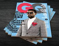 Kanye West Magazine Cover.