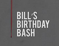 Bill's Birthday Bash Film Posters