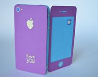 Pop Up Paper iPhone
