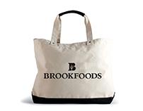 Branding & Signage Design: Brookfood Gourmet